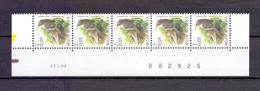 2919 BOOMKRUIPER DATUMSTRIP 23I02 POSTFRIS** A207 - 1985-.. Birds (Buzin)