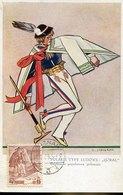 50851 Poland, Maximum 1939 Poznan Costume Populaires Polonais - Cartes Maximum