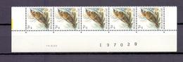 2347 Ringmus DATUMSTRIP 14XI89 POSTFRIS** A198 - 1985-.. Birds (Buzin)