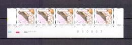 2653 KOPERWIEK DATUMSTRIP 20XI97 POSTFRIS** A124 - 1985-.. Birds (Buzin)