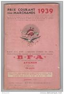 1939 BROCHURE 164 PAGES DE VENTE PAR CORRESPONDANCE GRAINES LÉGUMES FLEURS ARBRES BLAIN AVIGNON - 2. Semi