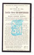 DP Camille M. Van Wonterghem ° Merkem Houthulst 1854 † Ieper 1930 X Marie Sidonie Bostyn - Santini