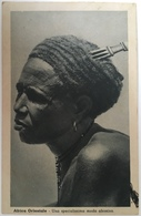 V 60509 Africa Orientale - Somalia - Una Specialissima Moda Abissina - Somalie