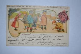 Publicité Grands Magasins D'habillement Maison Henri Esders   Les Billes - Künstlerkarten