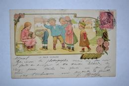 Publicité Grands Magasins D'habillement Maison Henri Esders   La Main Chaude - Künstlerkarten