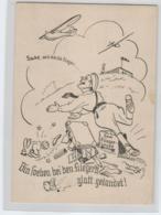 D.-Reich Propaganda  Karte... Glatt Gelandet -Landpost O .....      (ko301  ) Siehe Scan - Storia Postale