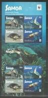 SAMOA - MNH - Animals - Reptiles - Turtles - WWF - Turtles