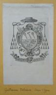 Ex-libris Héraldique Illustré XVIIIème - GUILLAUME DELVAUX - Evêque D'Ypres - Ex-libris