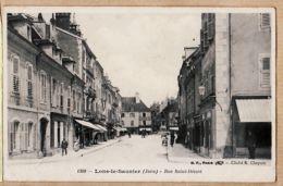 X39190 Cliché CHAPUIS B.F 1308- LONS-le-SAUNIER Jura Rue SAINT-DESIRE St 1910s - Lons Le Saunier