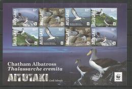 AITUTAKI - MNH - Animals - Birds - WWF - Oiseaux