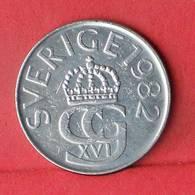 SWEDEN 5 KRONOR 1982 -    KM# 853 - (Nº33457) - Sweden