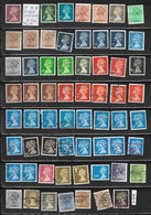 English Stamps 62 Pieces, EUR 20 (e 424) - Great Britain