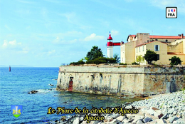 Set 6 Cartes Postales, Phares, Lighthouses Of Europe, France, Ajaccio, Le Phare De La Citadelle D'Ajaccio - Leuchttürme