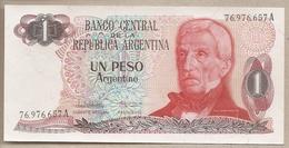 Argentina - Banconota Non Circolata FdS A 1 Peso P-311a.2 - 1984 #18 - Argentinien