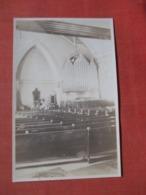 RPPC  Organ Vermont Church Notation On Back   Ref  3852 - Postcards
