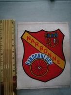 10821     ECUSSON TISSU NARBONNE  RANDONNEURS - Scudetti In Tela