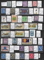 English Federal Stamps 28 Pieces, 9,60 EUR (e 425) - Great Britain