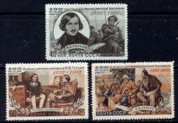 RUSSIE - 1605/1607**  - NICOLAS GOGOL - 1923-1991 URSS