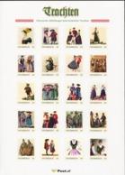 AUSTRIA 2017 History Of National Costumes Sheetlet S/A MNH - Kostüme