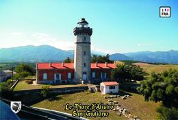 Set 6 Cartes Postales, Phares, Lighthouses Of Europe, France, San-Giuliano, Le Phare D'Alistro - Vuurtorens
