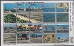 Israel 1983 - Tel Aviv 83 Stamp Exhibition - Miniature Sheet Mi Block 25 (941-942) ** MNH - Hojas Y Bloques