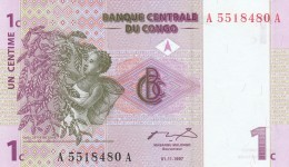 CONGO 1 CENTIME -UNC - Congo