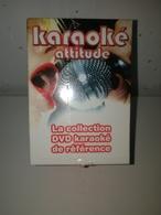 Karaoké Attitude - Coffret 10 DVD - Neuf & Scellé - DVD Musicaux