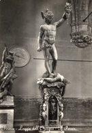 Firenze - Cartolina Antica IL PERSEO, Loggia Dell'Orcagna, Anni '60 - R24 - Sculture