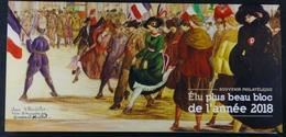 France 2019 Elu Plus Beau Bloc De L'année 2018 - Foglietti Commemorativi
