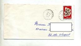 Lettre Cachet Jaulgonne  Sur Journee Timbre - Poststempel (Briefe)