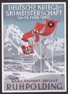 AK Propaganda / DEUTSCHE - KRIEGS - SKIMEISTERSCHAFT 1940 / RUHPOLDING - Weltkrieg 1939-45