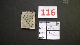 17a Oblitéré Vendu à 15% - 1865-1866 Profile Left