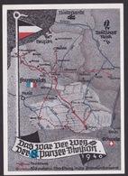 AK Propaganda / DAS WAR DER WEG  DER 8 PANZER - DIVISION  1940 / Nach Einer Zeichnung Von Obergefreiter Eglau - Weltkrieg 1939-45