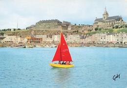 GRANVILLE - Vue D Ensemble Le Port Des Yachts Les Casernes Et L Eglise Notre Dame - Granville