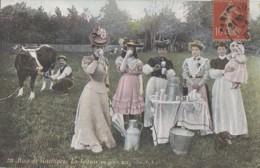 Santé - Lait Frais - Vache Traite - Mode Femmes - Bois De Vincennes Laiterie - Health