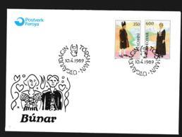Faroe Islands FDC 1989 Bunar Folklore (G108-20) - Féroé (Iles)