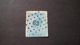 18 Oblitéré Vendu à 15% - 1865-1866 Profile Left