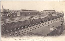 CPA Bergerac Vue Sur La Gare De Marchandises - Bergerac