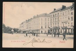 NAMUR  ==  LA PLACE DE LA STATION - Namur