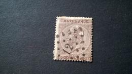 19 Oblitéré Vendu à 15% - 1865-1866 Profile Left