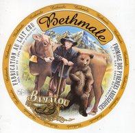 Jan20  10055   étiquette Fromage  Bethmale  Couleurs Foncées - Cheese