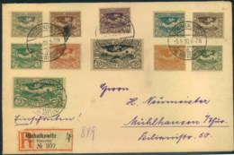 OBERSCHLESIEN: Einschreiben Ab MICHALKOWITZ (Kreis Kattowitz) - Allemagne