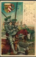 """1903, Privatganzsachenkarte """"X. DEUTSCHES TURNFEST NÜRNBERG"""" Gebraucht - Bavière"""