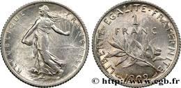 1 FRANC SEMEUSE ARGENT TTB 1902 - Frankrijk