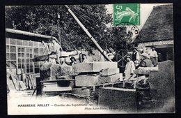 ALENCON  ( Orne) Marbrerie MALLET - Chantier Des Expéditions ( Photo. Saint-Blaise) - Alencon