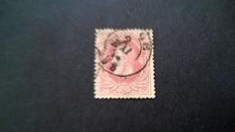 34 Oblitéré Vendu à 15% - 1865-1866 Profile Left