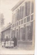 Carte Photo Vers 1910 UNE RUE DE ROISEL ?? - Roisel