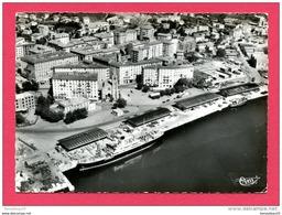 CPSM (Réf : B 383) BASTIA  (20 2A CORSE DU SUD) 243-36 A Vue Aérienne Sur Le Quartier Du Nouveau Port - Bastia