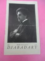 Programme /Salle PLEYEL/Festival DJABADARY/ Concert Colonne/E BOZZA/Oeuvre Des Vieux Musiciens/1945 PROG254 - Programas