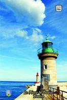 Set 6 Cartes Postales, Phares, Lighthouses Of Europe, France,  Bastia, Le Phare De Bastia - Vuurtorens